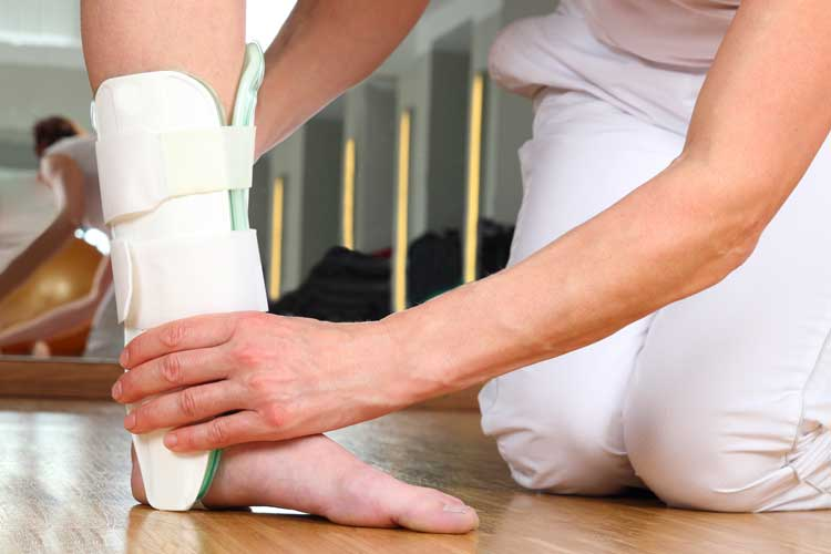 Occupational Therapy Subacute Rehabilitation Ankle Injury