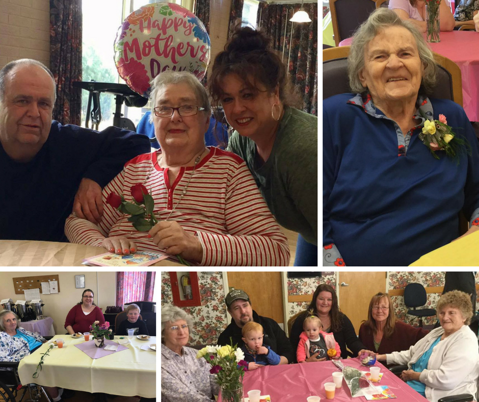 Mother's Day at our various facilities