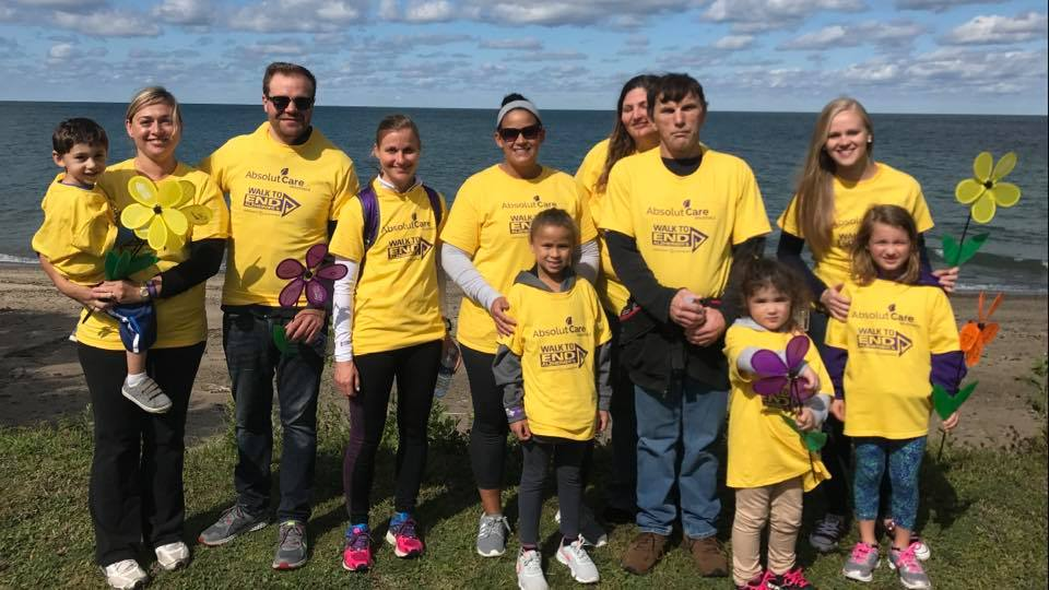 Westfield employees at the Walk to End Alzheimer's